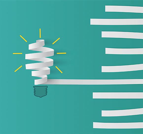 Light bulb drawing | Paper Shredding Services